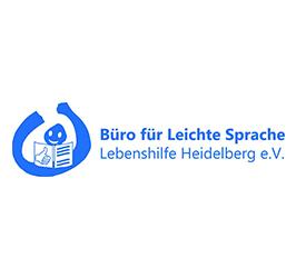 Logo: Büro für Leichte Sprache Lebenshilfe Heidelberg e. V.
