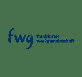 Logo: fwg - Frankfurter Werkgemeinschaften